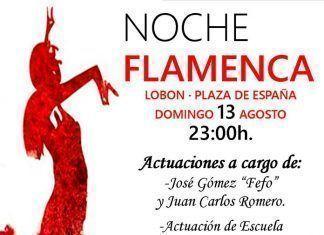 Noche flamenca en Lobón