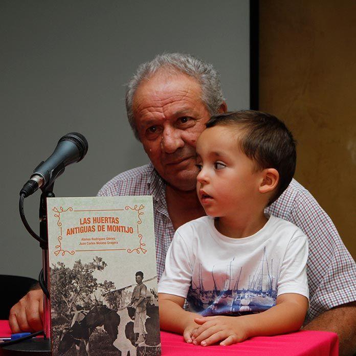 Alonso Rodríguez Gómez, Pichurrín, coator del libro Las antiguas huertas de Montijo