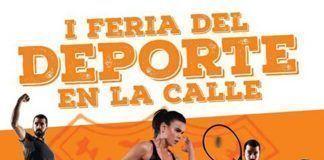 Cartel I Feria del Deporte de Montijo