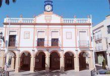 Fachada del Ayuntamiento de Montijo