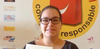 Lorena Gragera Paredes, de Montijo, una de las ganadoras del sorteo de VentanaDigital.com