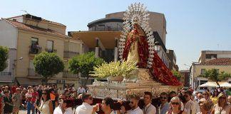 Procesión de la Virgen de Barbaño en Montijo, 8 de septiembre de 2017