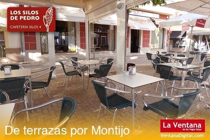 Terraza Los Silos de Pedro, Montijo (Badajoz)