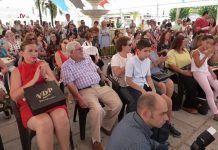 8 de Septiembre en Montijo, acto institucional