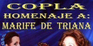 Cartel Homenaje a Marifé de Triana