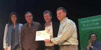 Entrega del Premio al Fomento de la Lectura al IES Díez-Canedo