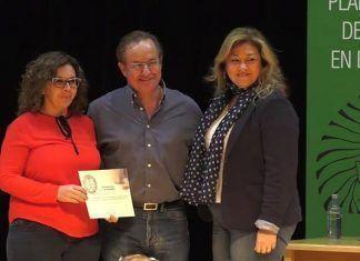 Entrega del Premios al Fomento de la Lectura en Extremadura 2017 a la Biblioteca Pública Municipal de Lobón