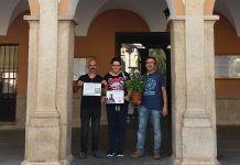 Miembros del Círculo Podemos de Montijo se suman a la campaña se suman a la campaña PlántatePorAlberto