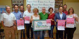 Presentación en la sede de la Junta Local de Montijo de la AECC de la IV Marcha senderista contra el cáncer Vegas Bajas.jpg