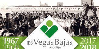 Cartel 50 aniversario IES Vegas Bajas (Ventana Digital Comunicación)