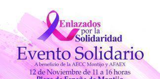 Cartel Enlazados por la Solidaridad en Montijo