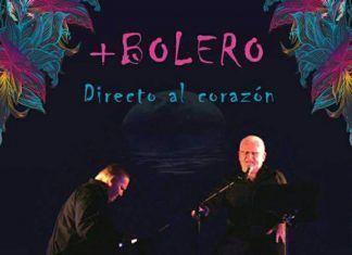 Cartel del concierto de +Bolero en el Teatro Municipal de Montijo