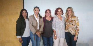 Participantes en la mesa de coordinación territorial sobre violencia de género 2017