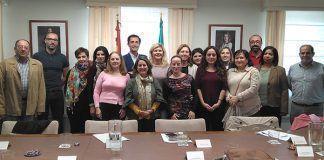 Reunión en Badajoz de la Comisión Provincial de Extranjeros