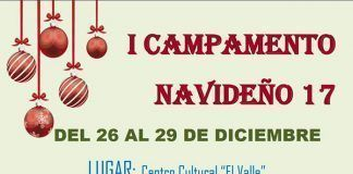 Cartel Campamento Navideño de Mozzanca