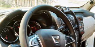 Interior del nuevo vehículo para la Policía Local de Montijo
