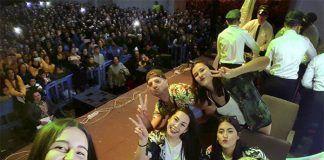 Los Pirulfos segundos en la Tamborada 2018 del Carnaval de Badajoz (foto Los Pirulfos)