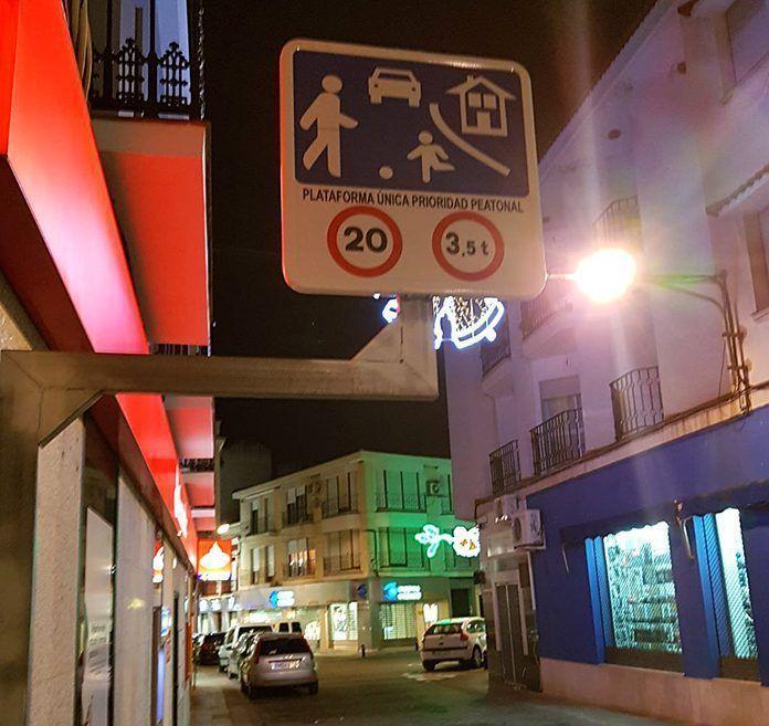 Nueva señalización en la calle Eugenio Hermoso de Montijo