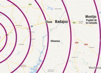 Terremoto Extremadura: con epicentro en Arraiolos, Portugal, se deja sentir en Extremadura.