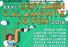 Cartel del XXVI Certamen Calamonte Joven 2016