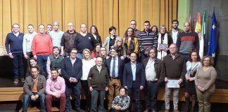 Entrega de distinciones a los donantes de sangre de Montijo, Barbaño y Lácara