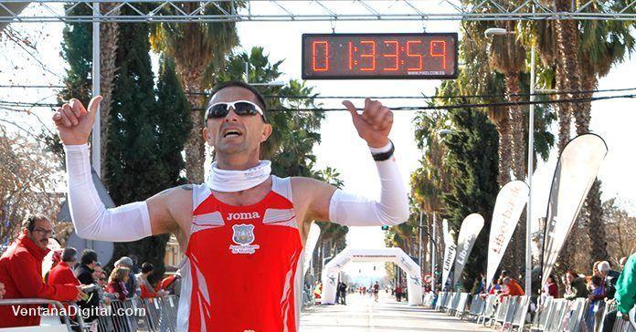 Participante en la III Media Maratón Villa de Montijo