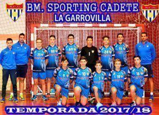 Gran gesto deportivo del Sporting Garrovilla