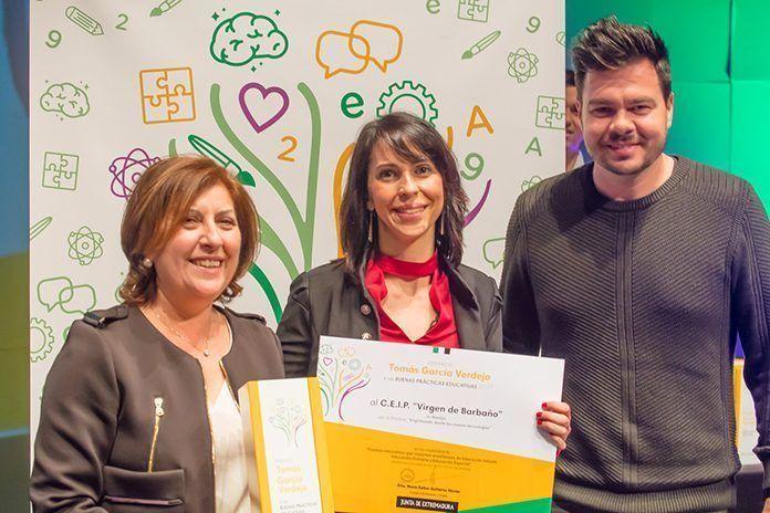 Premio Tomás García Verdejo para el CEIP Virgen de Barbaño de Montijo