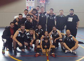Equipo senior de la Asociación Baloncesto Montijo