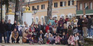 Jornada de Ocio Terapéutico en Familia de ALREX Montijo en el Centro de Formación Joaquín Sama de Baños de Montemayor