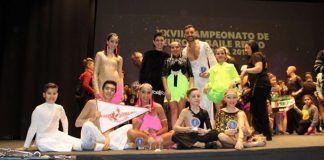 La Escuela de Baile Jesús y Sandra en el Campeonato de Europa de Baile