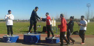 Manuel Nieto Ramón obtuvo el tercer puesto, medalla de bronce en categoría absoluta, en el Campeonato de Extremadura absoluto de lanzamientos largos de invierno, donde se impuso Javier Cienfuegos
