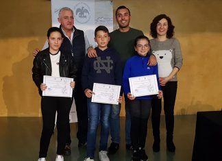 Premiados en el Concurso de dibujos sobre la Villa Romana de Torreáguila