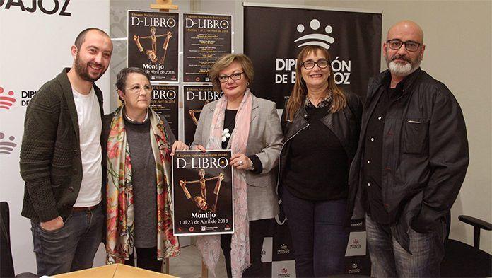 Presentación de la II Muestra Nacional de Teatro Infantil D-Libro de Montijo en Diputación de Badajoz