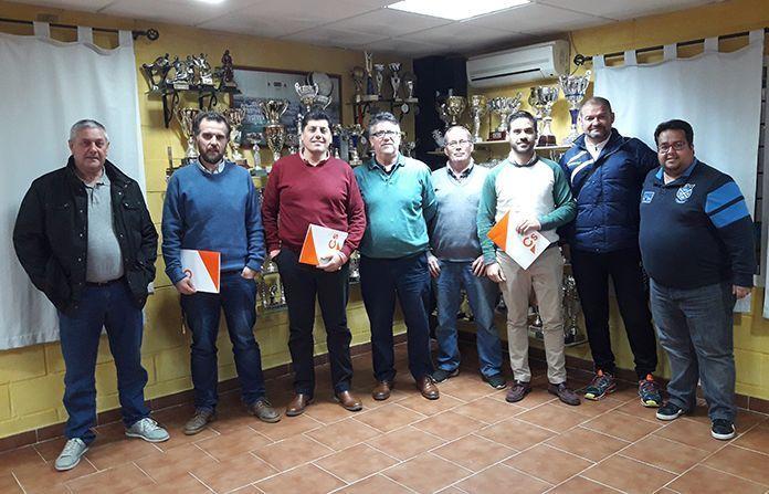 Representantes de Cs Montijo en la EF el Valle