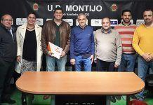 Representantes de Cs Montijo en la UD Montijo