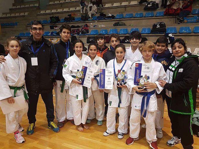 Soledad Salguero Capellán en la Copa de España Infantil de Judo