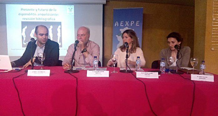 AEXPE ofreció una conferencia en la Sala Centinela del Teatro Municipal de Montijo