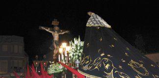 Procesión de la Cofradía del Santísimo Cristo de la Agonía y María Santísima de los Dolores de Montijo