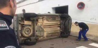 Accidente en Montijo