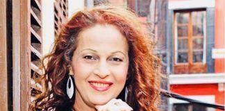 Carla Antonelli recibirá el Premio Adela Cupido 2018 (foto twitter.com:CarlaAntonelli)