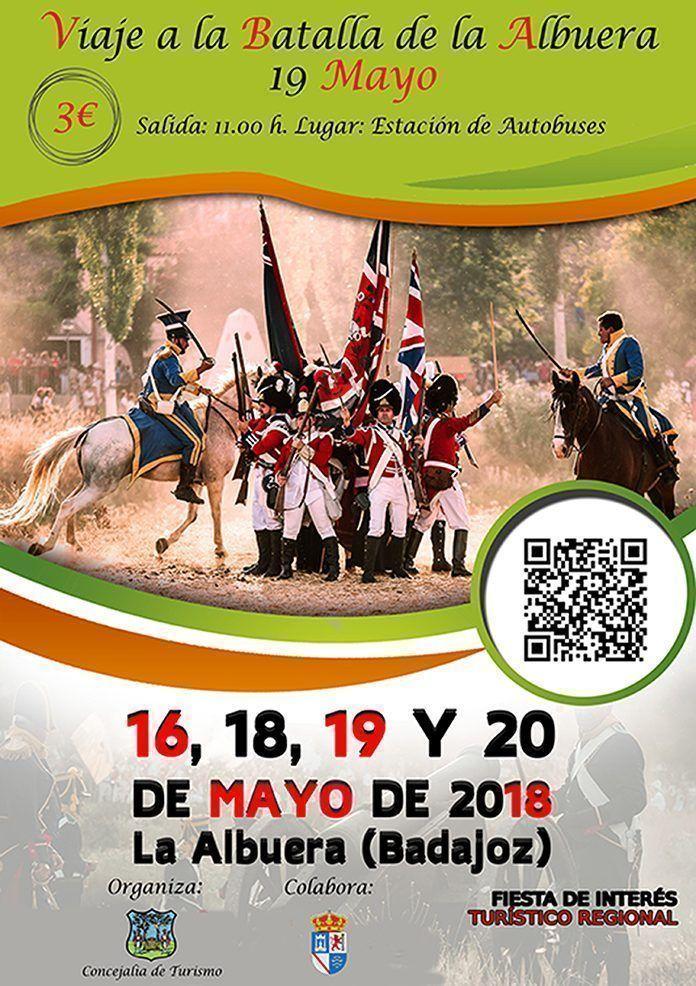 Cartel viaje a la Batalla de la Albuera