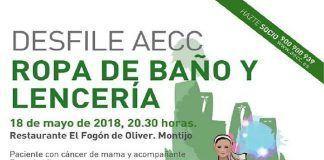Desfile AECC Montijo de ropa de baño y lencería
