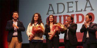 Carla Antonelli y Fademur recibieron el premio Adela Cupido en Montijo