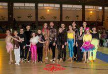 """Escuela de Baile """"Jesús y Sandra"""" de Puebla de la Calzada en el Campeonato de baile de Extremadura en Almendralejo"""