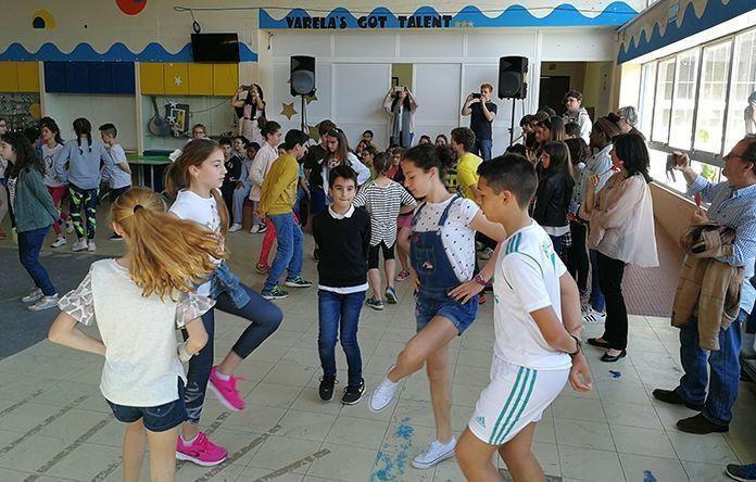 Excursión-convivencia del Colegio Príncipe de Asturias de Montijo (España) al colegio D. Pedro Varela de Montijo (Portugal)