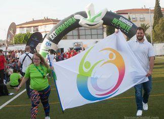 Inauguración de los JEDES 2018 de Montijo