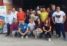 Los Usuarios de la Asociación Camino a la Vida visitaron la Feycom 2018 en Montijo