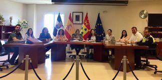 Mesa de Coordinación Policial para la Protección y Seguimiento de las Víctimas de Violencia de Género en las localidades de Lobón y Guadajira