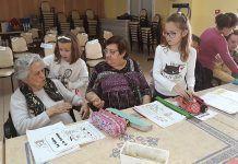 Semana cultural en el Centro de Día de Lobón con los alumnos del Colegio de Nuestra Señora de la Asunción
